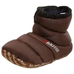 Baffin Unisex Cush Insulated Slipper Booty,Espresso,X-Large (Men\'s 9-10 M US / Women\'s 11 M US)