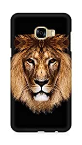 Amez designer printed 3d premium high quality back case cover for Samsung Galaxy C5 (king lion)