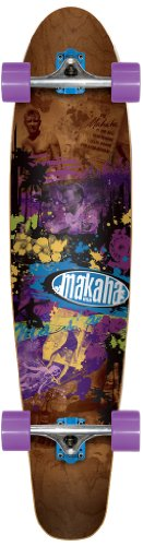Makaha Tower 17 Longboard, Brown, 10 X 44-Inch