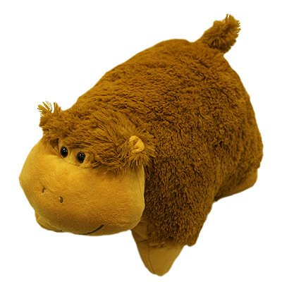 Pillow Pet Soft Toy, Monkey, 30 x 50 Cm