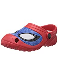 Spiderman Boy's Red And Blue Clogs And Mules - Over 4 Years - 12 UK - B00LI0L15E
