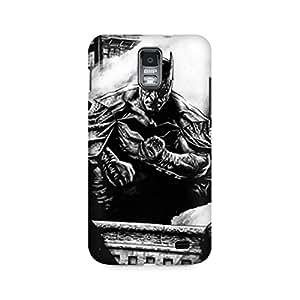 Motivatebox- Batman Premium Printed Case For Samsung S2 I9100/9108 -Matte Polycarbonate 3D Hard case Mobile Cell Phone Protective BACK CASE COVER. Hard Shockproof Scratch-