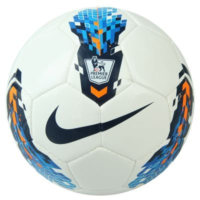 Nike Total 90 Skills Premier League Football 2011 White/Blue/Ora Size 1