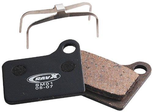 Buy Low Price RavX Shimano Deore BR-M555/Nexave C910 Hydraulic Semi-Metal Disk Pads (BD04B)