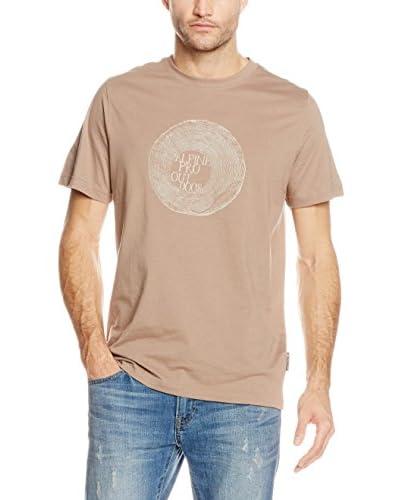 Alpine Pro T-Shirt Manica Corta Uneg 2  [Grigio Chiaro/Blu]