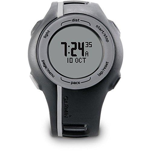garmin-unisex-forerunner-110-gps-digital-display-sport-trainer-running-monitor-watch-black-gray-cert