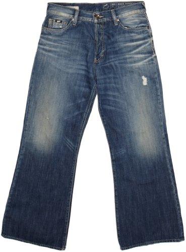 GAS North Woodstock Nr W869 Boot Cut Men's Jeans Blue W30INxL30IN