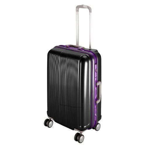 キャプテンスタッグ(CAPTAIN STAG) グレル トラベルスーツケース TSAロック付きHFタイプ L ブラック UV-10