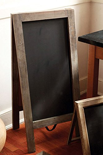 Vagabond-Vintage-X-Large-Standing-Two-Sided-Chalkboard-with-Rustic-Recycled-Pine-Frame