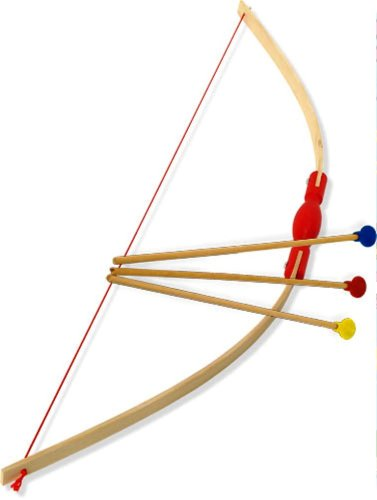 Vilac Bows Three Arrows and Target Baby Toy