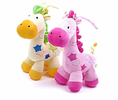 2-pieces-pink-and-yellow-new-carters-toys-high-quality-plush-baby-toy-w-music-box-playing-his-violin