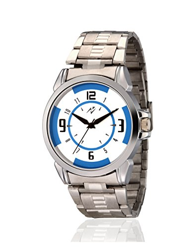 Yepme Men's Chain Watch – Blue/Silver