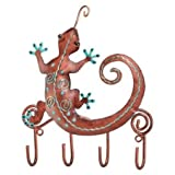 Hanging Hooks Key Rack Southwest Gecko - Regal Art #S884