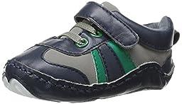 Luvable Friends Explorer Sneaker (Infant), Blue, 12-18 Months M US Infant