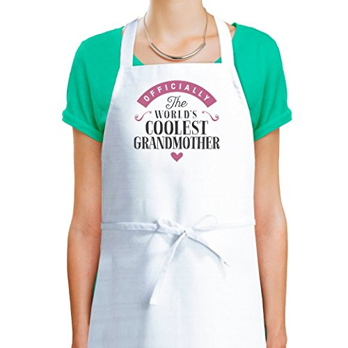 Grandmother Apron, Grandmother Cooking Gift, Keep Calm, Grandmother's In The Kitchen, Personalized Grandmother Gift, Cooking Apron For Women, Birthday Gift For Grandmother!
