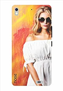 Noise The Girl In White Printed Cover for Gionee Elife S5.1