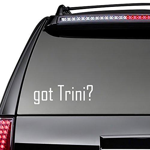 Idakoos - Got Trini? - Female Names - Decal Pack x 3 (Trini Cars compare prices)