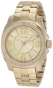 Tommy Hilfiger Women's 1781139 Gold-Plated Stainless Steel Bracelet  Watch