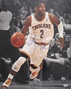 KYRIE IRVING SIGNED AUTHENTIC 16X20 PHOTO CLEVELAND CAVALIERS PSA DNA T93299 by KLF+Sports