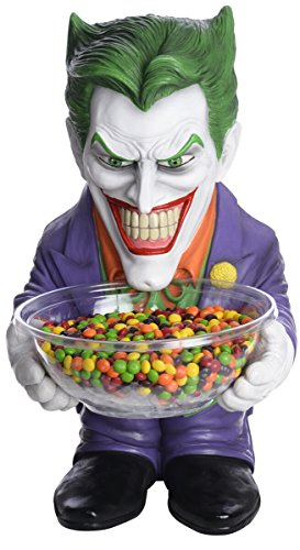 Rubies Joker Batman Halloween Party Decor Candy Holder Bowl