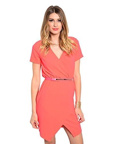 Club LA Women's Surplice Dress