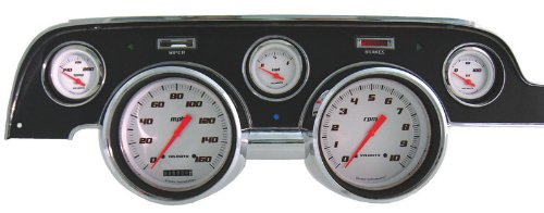 Auto Meter 1303-00408 Arctic White Street Rod Kit