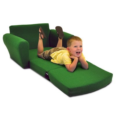 Kidz World John Deere Green Boy's Sleepover Sofa