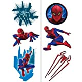 Spider-Man Temporary Tattoos 2 sheets , 1 pkg
