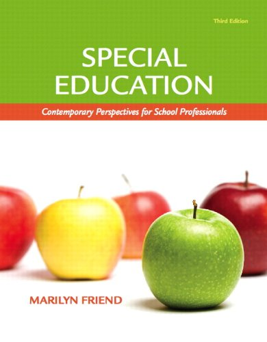 Special Education: Contemporary Perspectives for School...