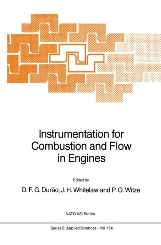 Instrumentation for Combustion and Flow in Engines (Nato Science Series E:)