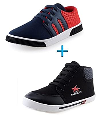 Maddy Perfect Combo Pack Of 2 Shoes For Men In Various Sizes