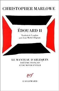 Edouard II par Christopher Marlowe
