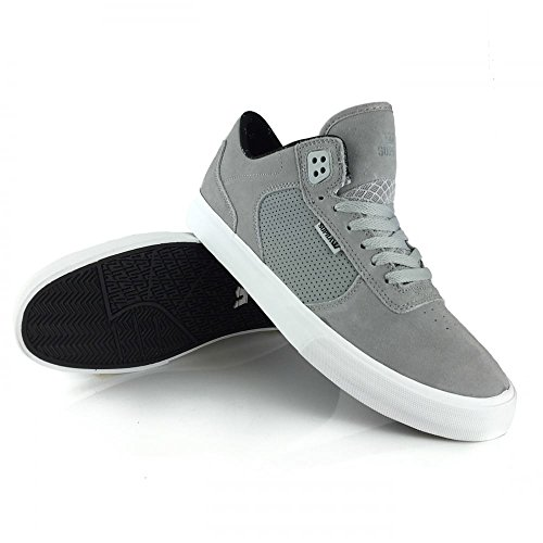 Supra Ellington Vulc Light Grey/Off White 11uk