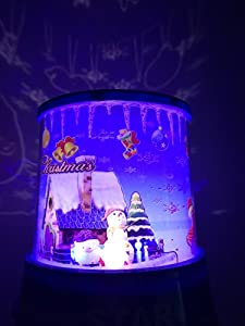 Aeeque Amazing Romantic LED Night Light Projector Lamp, Colorful Star Master Light, Bedside Lights(with USB Cable) by Aeeque