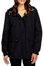 Per Una Funnel Neck Hooded Mac with Stormwear [T62-3707J-S]