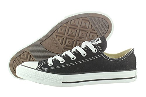 Converse Unisex Child Tod/Yth Chuck Taylor All Star Ox - Black - 11 TOD