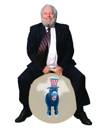 Democrat Adult Size Hopper Hoppity Hippity Ball: Obama Jumping