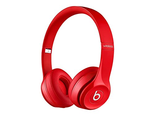 Beats Solo2 Wireless On-Ear Headphone - Red