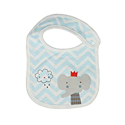 Cutebaby Elephant bib for newborn and babys Blue