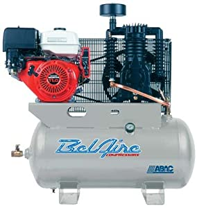 BelAire 3G3HH 11 HP 30 Gallon Gas Driven Honda Engine