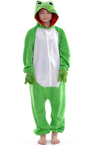 DAYAN Pajamas Anime Costume Adult Animal Onesie Frog Cosplay