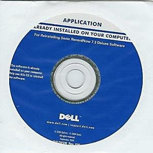 Sonic Recordnow 7.3 Deluxe reinstall CD & DVD Burning Software