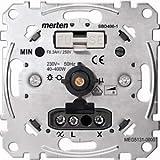 Merten MEG5131-0000 Drehdimmer-Einsatz für ohmsche Last mit Druck-Ausschalter