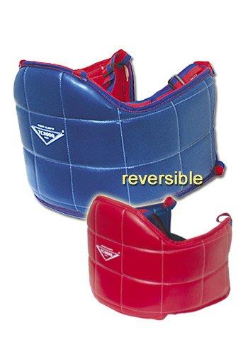 VINYL RED/BLUE RIB GUARD - Medium (Boxing Rib Protector compare prices)