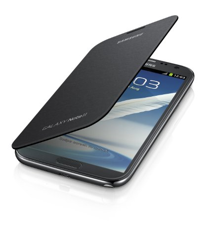 Samsung Galaxy Note 2 Flip Cover Case (Titanium Gray)