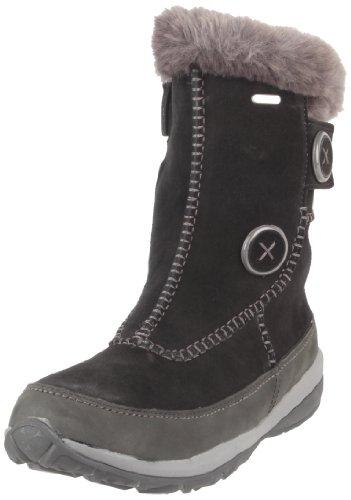 Tecnica Women's Patchwork Mid Tcy Winter Boot,Black,7 M US