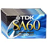 SA-60 High Bias Type II Blank Tape (Discontinued by Manufacturer)
