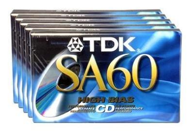 Tape High Bias Sa-60 High Bias Type ii Blank