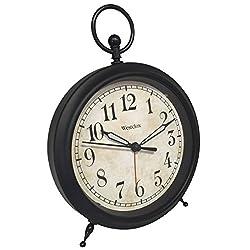 Westclox 75043 Decor Ring Ascending Alarm Clock