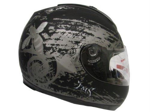 Matte Black Hornet Full Face Motorcycle Street